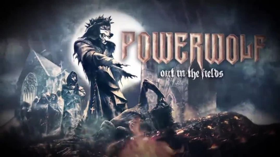 Powerwolf - Out In The Fields (Gary Moore Cover) Official Lyric Video / Bg subs (вградени)